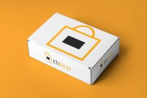 caja de cartón personalizable