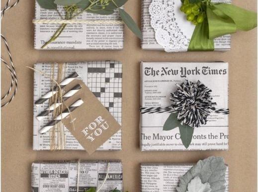 ideas DIY para envolver regalos de navidad