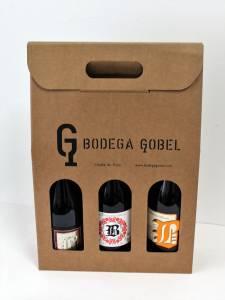 Packaging para bodegas de vino, personalizables