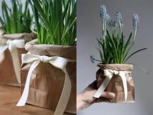 Reciclaje de bolsas de papel
