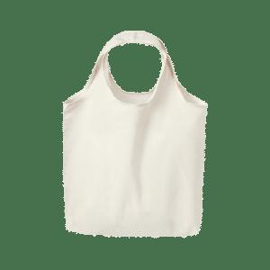 bolsa de tela asa redonda