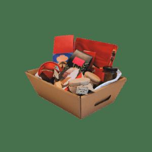 bandeja de cartón