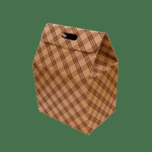 caja de cartón gourmet