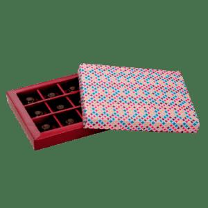 caja de cartón para bombones