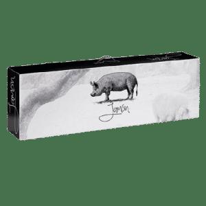 caja de cartón para jamón