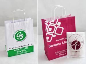 Packaging para farmacias bolsas de papel para farmacias