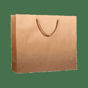 bolsa de papel lujo color Kraft