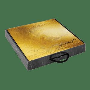 caja de cartón para loncheado