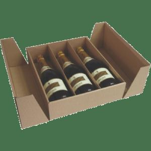 cajas de cartón para el vino