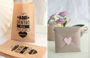 Packaging Kraft para San Valentín
