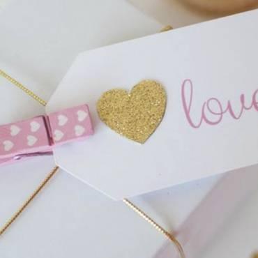 ¡Con mucho amor! Packaging para San Valentín