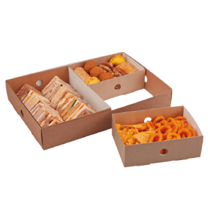 Bandejas separadoras para cajas de catering