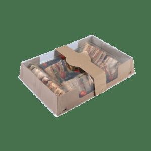 Bandeja de cartón para comida Take Away