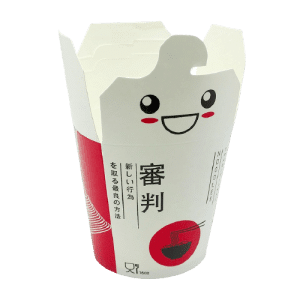 Packaging para comida estilo japones o oriental