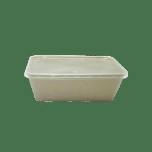 Envase rectangular para alimentos