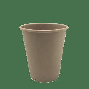Vaso de papel Kraft para bebidas