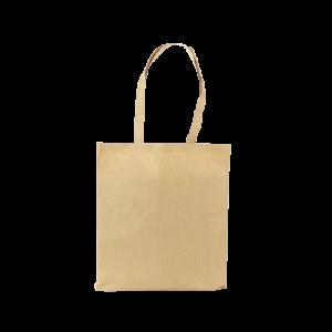 Bolsa de papel y fibras de algodón